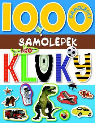 Obrázok 1000 samolepek pro kluky