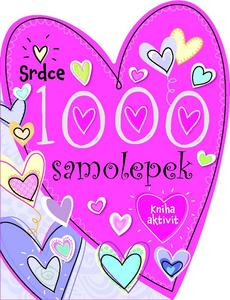 Obrázok 1000 samolepek Srdce