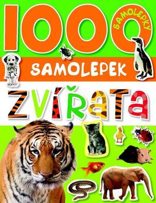 Obrázok 1000 samolepek zvířata