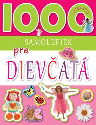 Obrázok 1000 samolepiek pre dievčatá