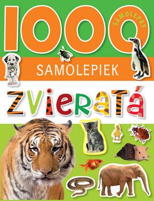 Obrázok 1000 samolepiek Zvieratá