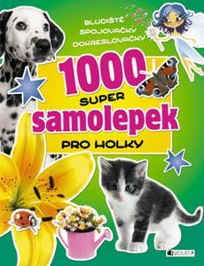 Obrázok 1000 super samolepek pro holky