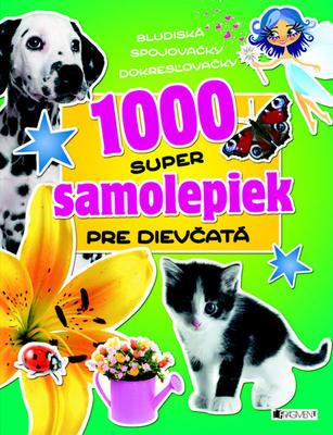 Obrázok 1000 super samolepiek pre dievčatá
