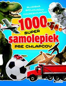 Obrázok 1000 super samolepiek pre chlapcov