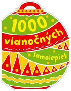 Obrázok 1000 vianočných samolepiek