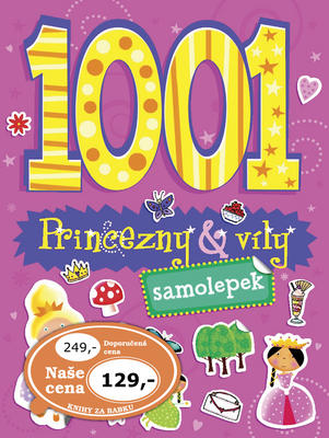 Obrázok 1001 samolepek Princezny a víly