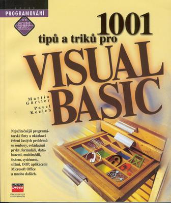 Obrázok 1001 tipů a triků pro Visual Basic