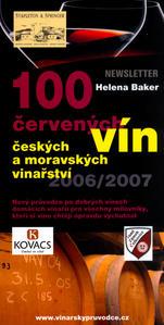 Obrázok 100 červených vín 2006/2007