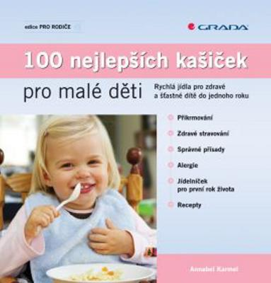 Obrázok 100 nejlepších kašiček pro malé děti