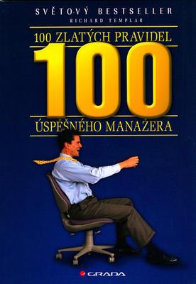 Obrázok 100 zlatých pravidel úspěšného manažera