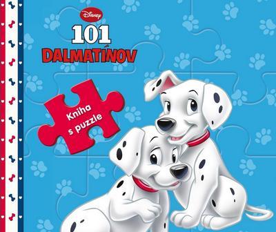 Obrázok 101 dalmatínov kniha s puzzle