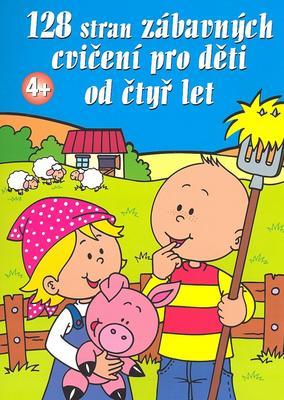 Obrázok 128 stran zábavných cvičení pro děti od čtyř let