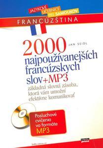 Obrázok 2000 najpoužívanejších francúzskych slov + MP3
