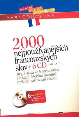 Obrázok 2000 nejpoužívanějších francouzských slov + 6CD