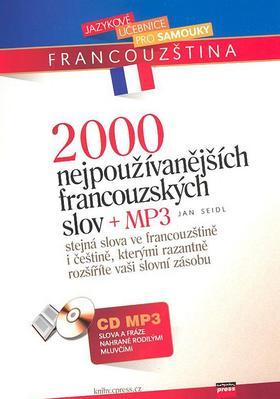 Obrázok 2000 nejpoužívanějších francouzských slov + CD MP3