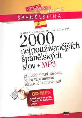 Obrázok 2000 nejpoužívanějších španělských slov + MP3