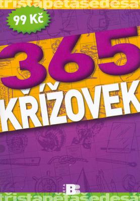 365 křížovek fialové