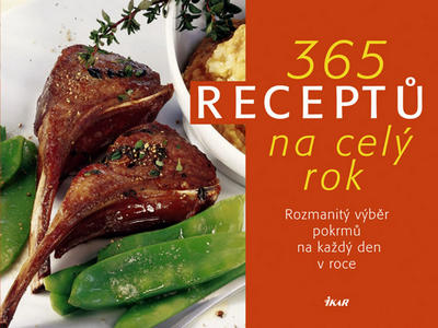 Obrázok 365 receptů na celý rok