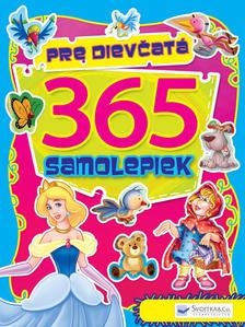 Obrázok 365 samolepiek pre dievčatá