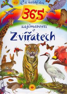 Obrázok 365 zajímavostí o zvířatech Čti každý den