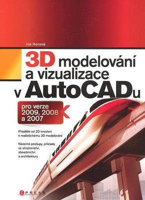 Obrázok 3D modelování a vizualizace v AutoCADu