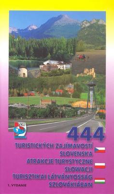Obrázok 444 turistických zajímavostí Slovenska