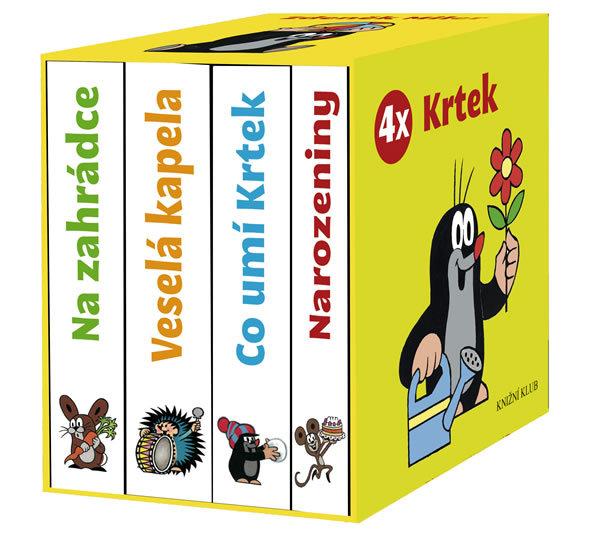 4x Krtek BOX - Zdeněk Miler