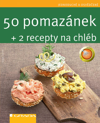 Obrázok 50 pomazánek + 2 recepty na chléb