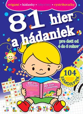 Obrázok 81 hier a hádaniek pre deti od 4 do 6 rokov