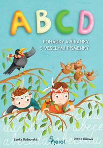 Obrázok ABCD pohádky a říkanky s veselými písmenky