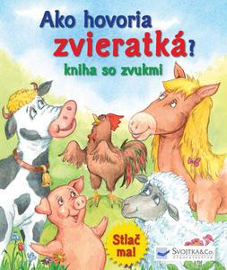Obrázok Ako hovoria zvieratká? Kniha so zvukmi