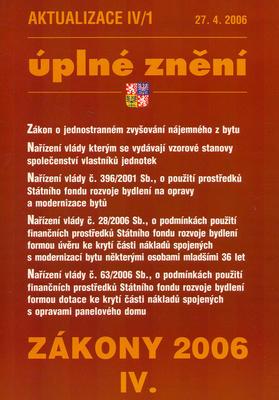 Obrázok Aktualizace IV/1 2006