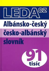Obrázok Albánsko-český česko-albánský slovník