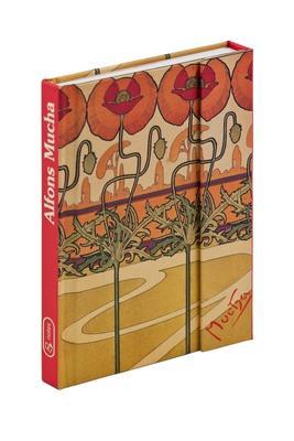 Obrázok Alfons Mucha magnetic notes linkovaný