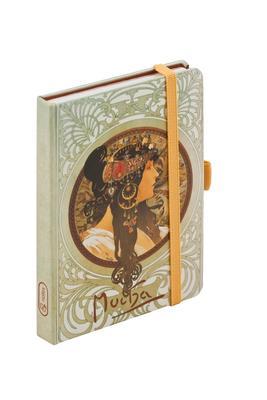 Obrázok Alfons Mucha Tetes Byzantines journal notes