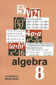 Obrázok Algebra 8 učebnice