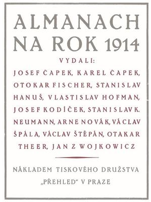 Obrázok Almanach na rok 1914
