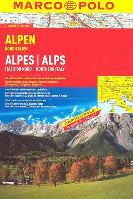 Obrázok Alpen Alpes/Alps 1:300 000