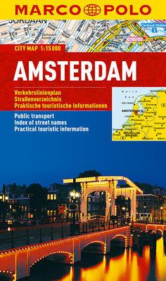 Obrázok Amsterdam - lamino MD 1:15 000