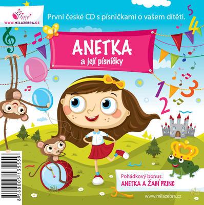 Obrázok Anetka a její písničky