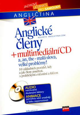 Obrázok Anglické členy + multimediální CD