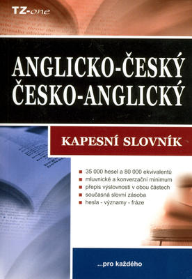 Obrázok Anglicko-český/česko-anglický kapesní slovník