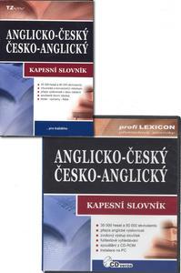 Obrázok Anglicko-český/česko-anglický kapesní slovník + CD-ROM