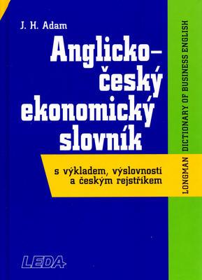 Obrázok Anglicko český ekonomický slovník