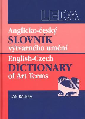 Obrázok Anglicko - český slovník výtvarného umění