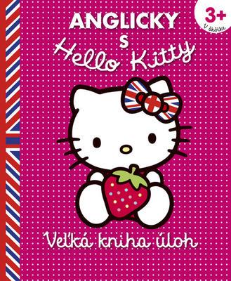 Obrázok Anglicky s Hello Kitty Veľká kniha úloh