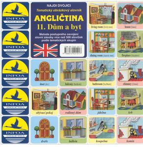 Obrázok Angličtina 11. Dům a byt