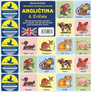 Obrázok Angličtina  4. Zvířata