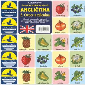 Obrázok Angličtina  5. Ovoce a zelenina