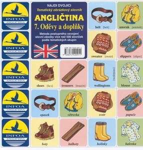 Angličtina  7. Oděvy a doplňky